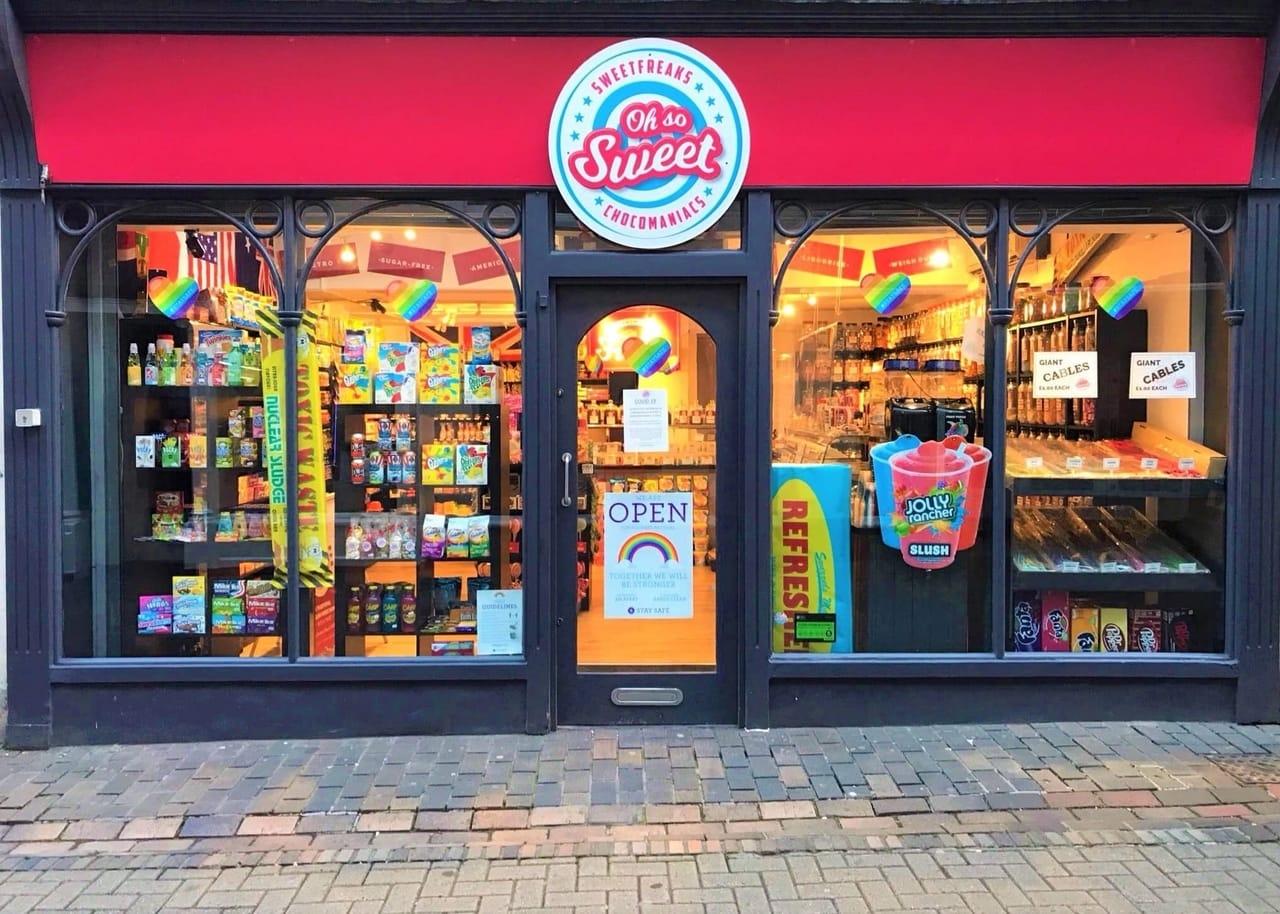Oh So Sweet shopfront Norwich