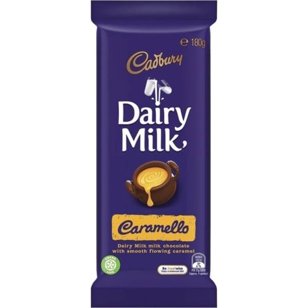 Dairy Milk Caramello Australian Chocolate